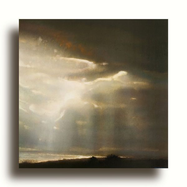Richard Whadcock . Edge Of Light . Oil on Panel A moment when one holds ones breath.