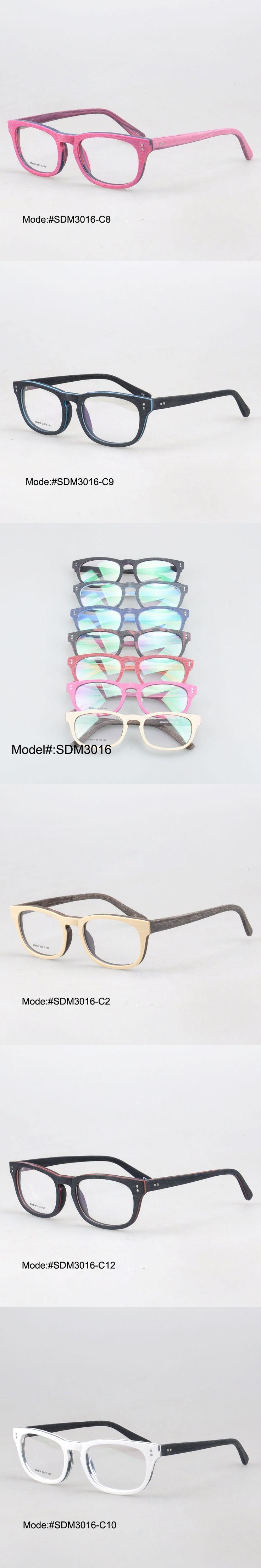 MY DOLI SDM3016 new arrival full rim fashionable acetate imitating wood glasses myopia spectacles optical frames eyewear