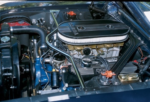 1967 Shelby Ford Mustang Gt500 Engine Bay Shelby Mustang