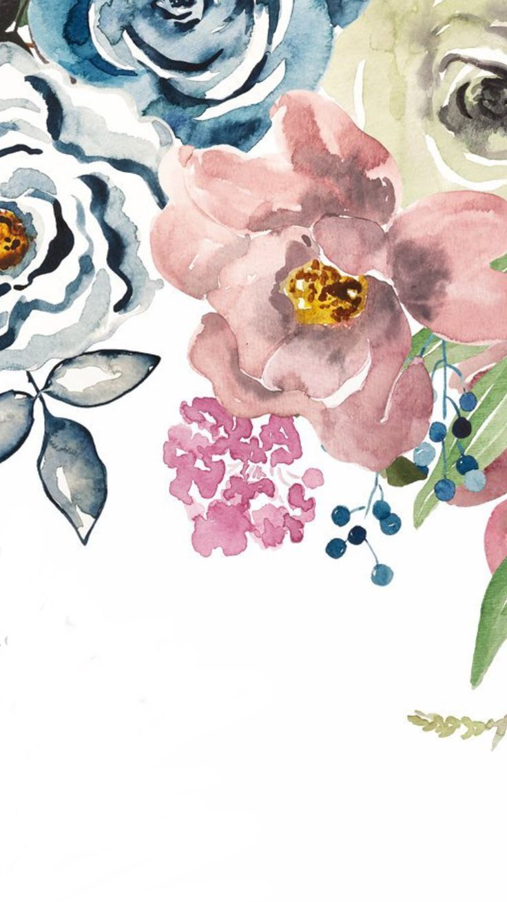 Iphone Wallpaper pinterest Floral wallpaper iphone