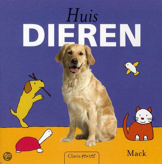 Huisdieren - clavis peuter boek