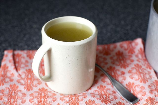 life-changing, uncluttered chicken broth by smitten, via Flickr