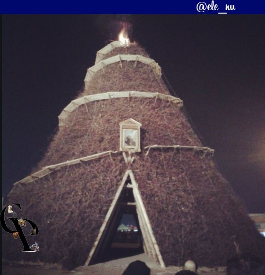 The Fòcara in #Novoli (#Salento, South #Puglia) The word Fòcara derives from the dialect of #Salento and it means a bonfire of firewood . It is used to indicate a traditional rite: to create piles of fagots at crossroads of the city (especially in the cities of Surbo and Novoli ) and set it on fire on the eve of the liturgical feast of Saint Anthony. #travel #travelblog #blog #blogger #travelblogger #italy #italia #lafocara #Salentowebtv #ecofestapuglia