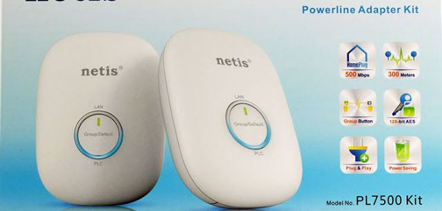 #Giveaway Netis Powerline Adapter Kit « iDG | Best Gaming News Sites