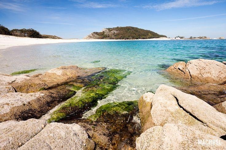 Islas Cies. Galicia. Spain