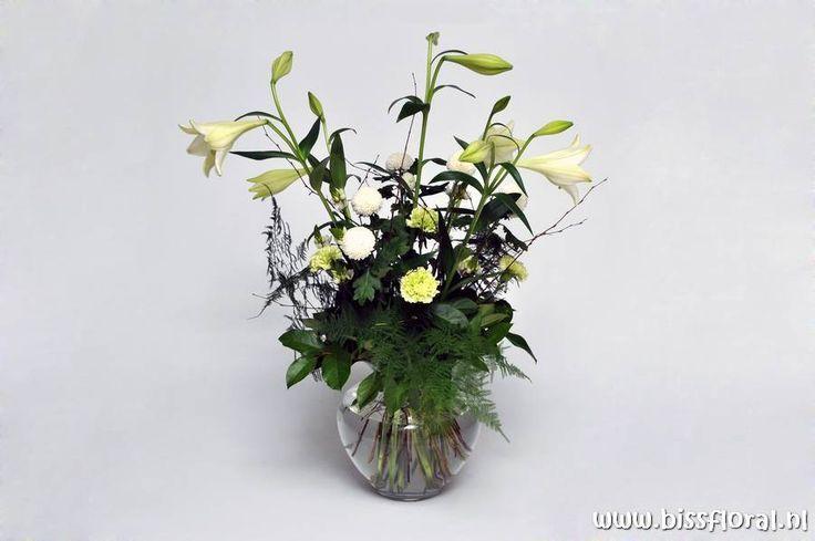 Vaas met bloemen!!