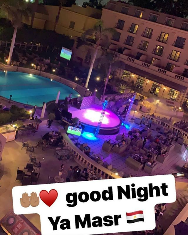 وهيبة وزوجها فرانك ريبيري سيحضران النهائي بمصر لمناصرة الخصر Good Night Night Best