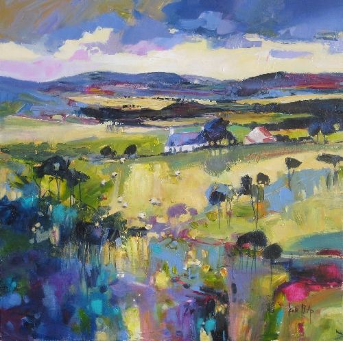 Kate Philp Highland Cottages Signed Limited Edition Print | Scottish Contemporary Art