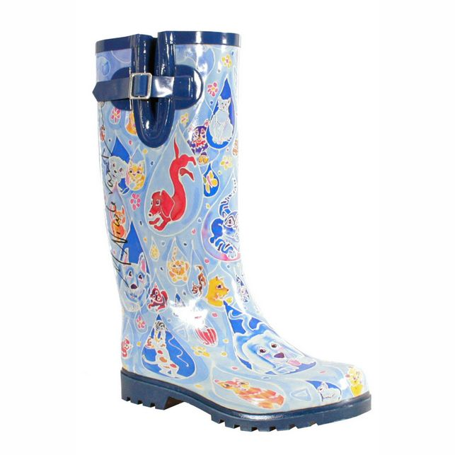 Nomad Puddles It's Raining Cats and Dogs Rain Boot