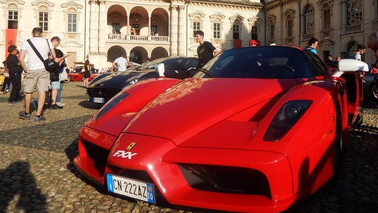 Salone del Valentino 2017: 70th Anniversary of Ferrari -2: Enzo, F12 tdf...