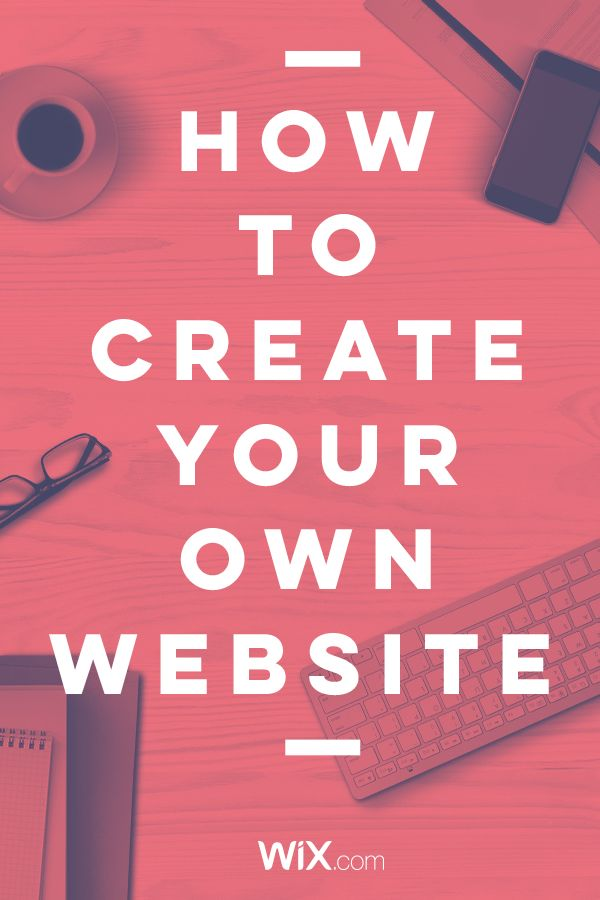 design your own website free