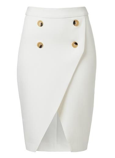 SEED HERITAGE: Seed Collection white wrap skirt AUD $129.95: http://rstyle.me/n/sa8r9r6gw (international shipping available)