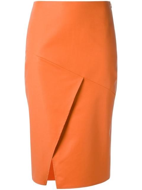Andrea Marques юбка-карандаш с панельным дизайном