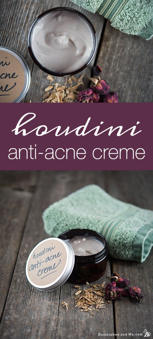 How to Make Houdini Anti Acne Creme - the infusion might destabilize the emulsion and it might oxidize in few days. This is the problem of infusions in handmade cosmetics. Other than that, looks nice and simple