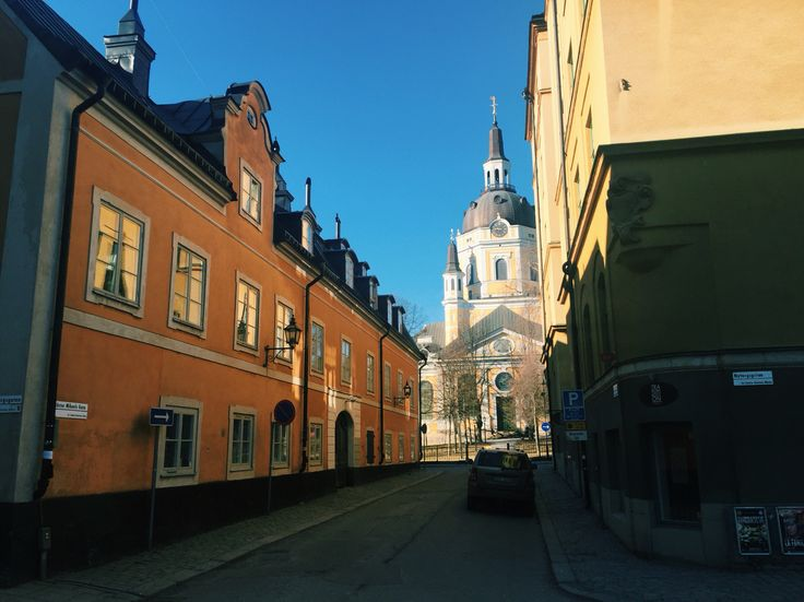 A beautiful street we stumbled upon in Stockholm.