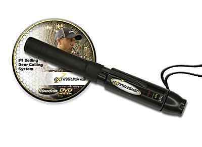 Game Calls 36252: Extinguisher Deer Call Black With Dvd Instructional Hunting Buck Lure Grunt New BUY IT NOW ONLY: $31.85