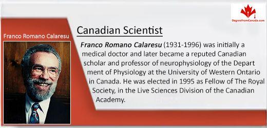 #ScientistFact #CanadianScientist Via DegreeFromCanada