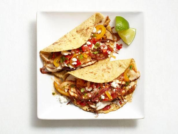 Get Chicken Fajitas Recipe from Food Network