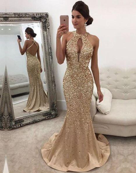 Abendkleider lang elegant