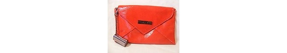 Mary Kay Metro Chic Red Clutch Bag With Lip Gloss Keychain $10.00