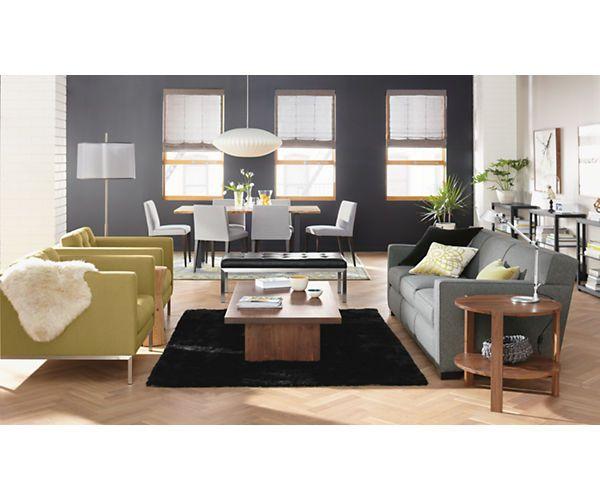 """Room & Board - Dean 88"""" Three-Cushion Sofa"""