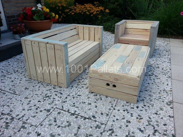 Garden Furniture Made From Decking 115 best things make with pallets images on pinterest
