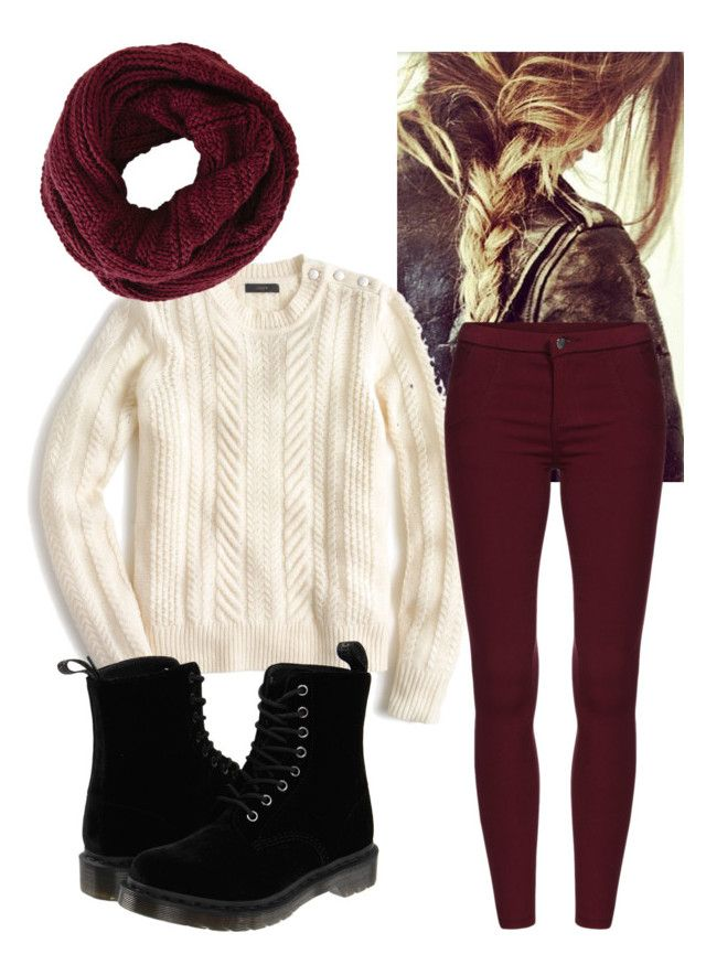 177 Winter by ginette1999 on Polyvore featuring polyvore, fashion, style, J.Crew, Dr. Martens, BCBGMAXAZRIA, women's clothing, women's fashion, women, female, woman, misses and juniors