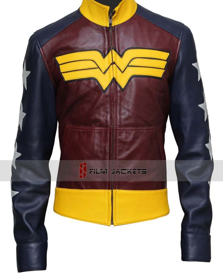Wonder Woman Costume Jacket... I need this in my life.