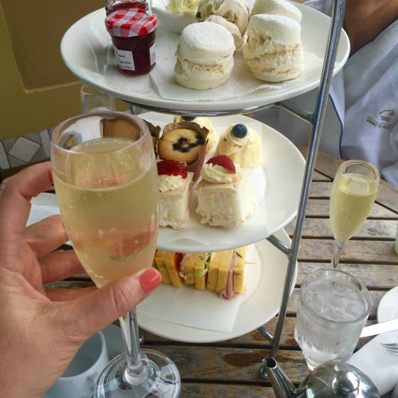 Brisbane Marriott Hotel Dome Retreat and Spa high tea