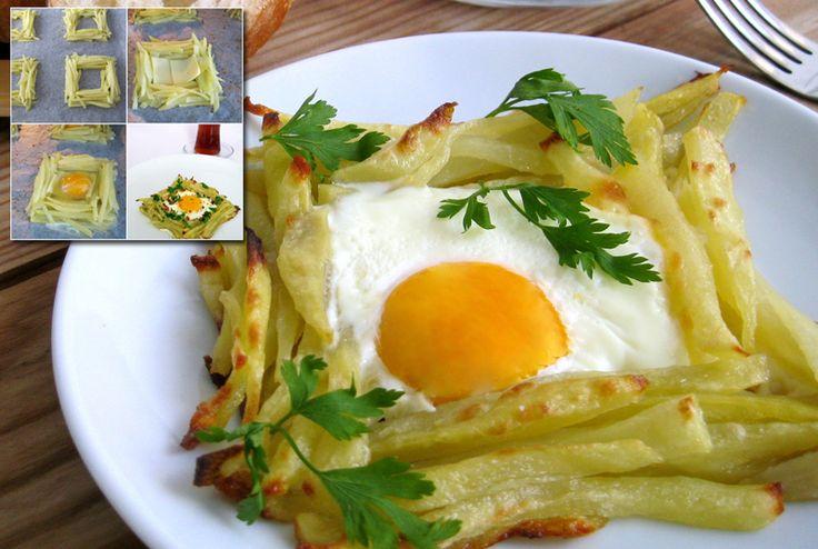 Kahvaltılık Kafes Patates Tarifi