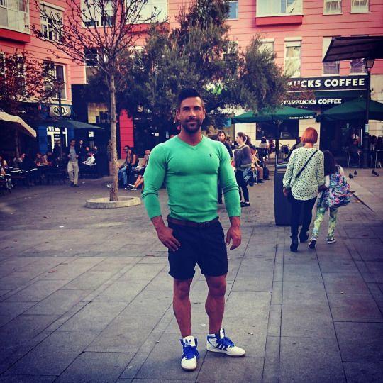 Bodybuilders in Street Clothes