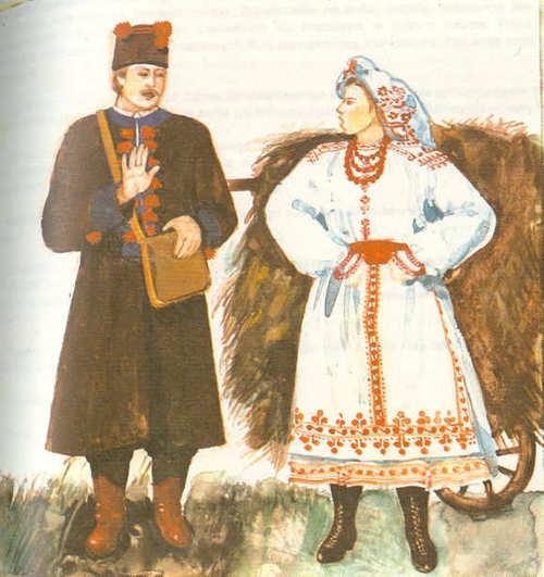 Folk costumes of Biłgoraj, Poland