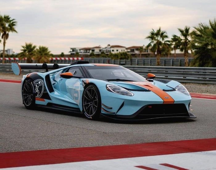 Ford Gt Mkii In 2020 Ford Gt Performance Wheels Classic Cars