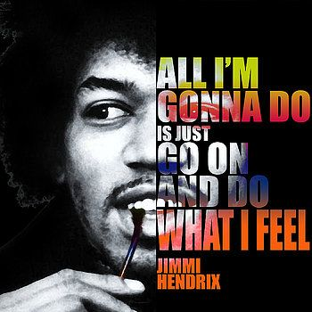 Nostalgic Art - Jimi Hendrix Quotes