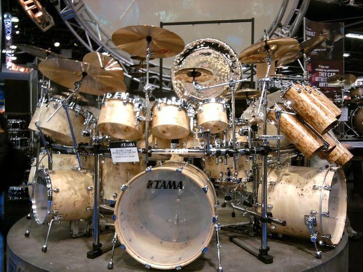 Drumcool Com Namm 2012 Tama Gigantic Exotic Concert Drum