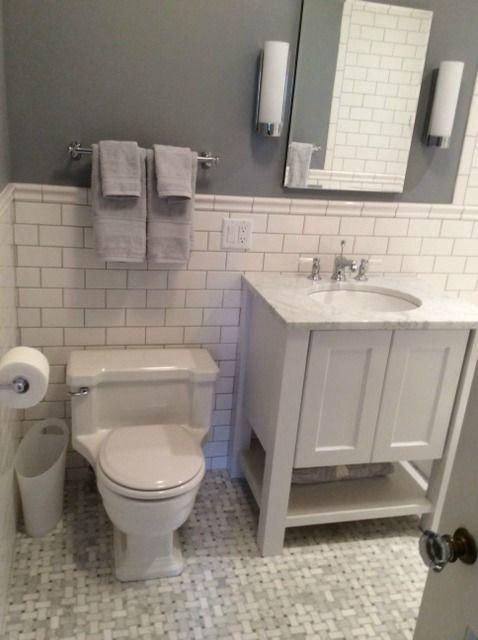 Bathroom Paint Colors With Marble bathroom paint colors with carrera marble: badrumsinspiration.