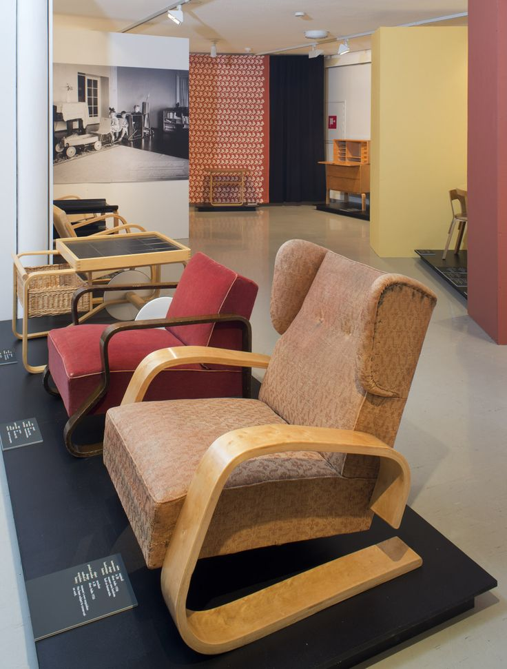 out with the 3-piece suite! aalto furniture in 1939  Alvar Aalto Museum Gallery 21.11.2014–18.1.2015 Photo: Alvar Aalto Museum / Maija Holma