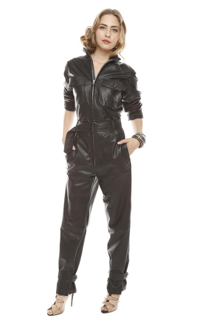 Shoptiques — Leather Jumpsuit