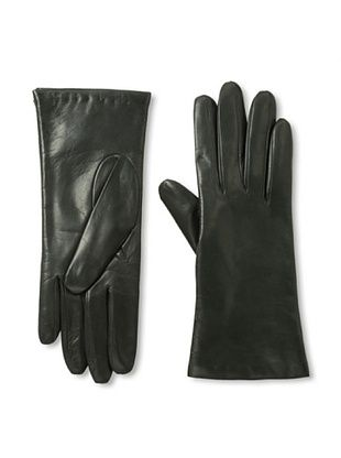 Portolano Women's Cashmere-Lined Leather Gloves