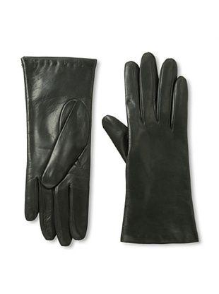 Portolano Women's Cashmere-Lined Leather Gloves
