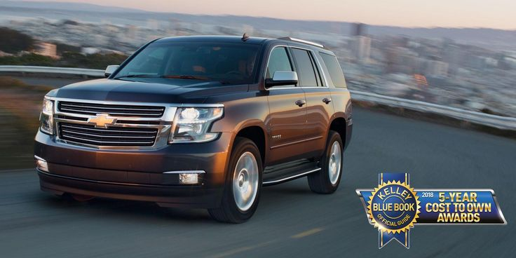 2018 Chevy Tahoe Has The Lowest 5 Year Cost To Own In Its Class According Kelley Blue Book