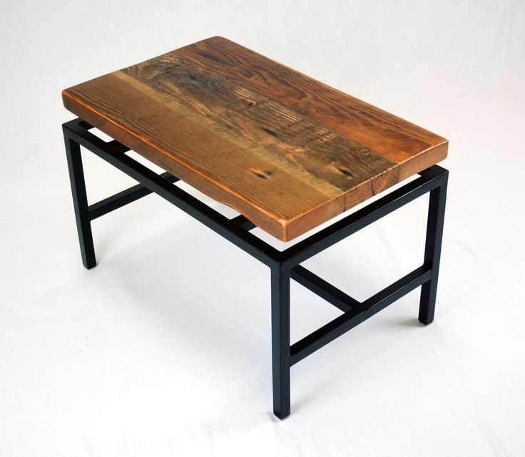 17 best images about square tube furniture on pinterest for Reclaimed wood furniture portland oregon