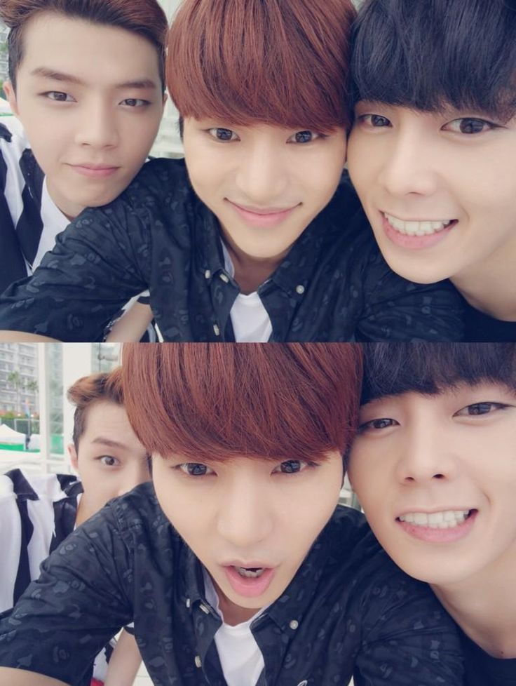 JunQ, InSoo and Chaejin