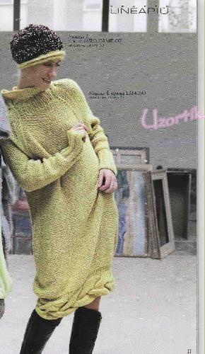 Вязание бесплатные схемы - вязаные платья | Узорчик.ру Страница: 4