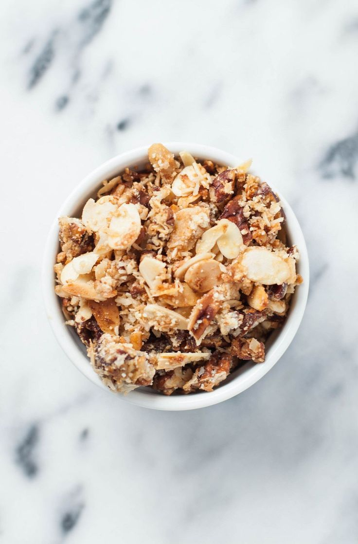 grain-free granola (and dear god, this is GOOD)