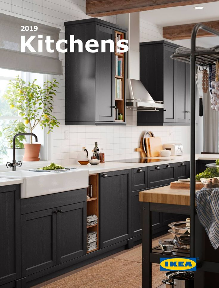 KITCHENS 2019 IKEA Kitchen Brochure 2019 Black ikea