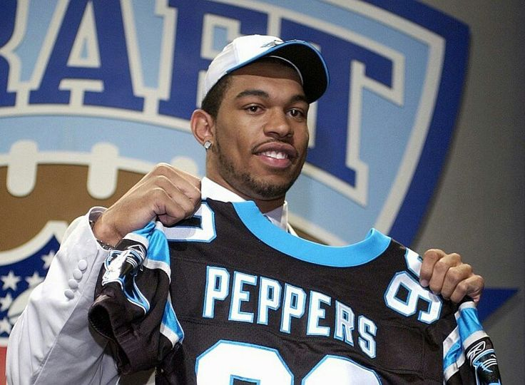 Year 2000  the Carolina Panthers draft Julius Peppers to the Carolina Panthers team!