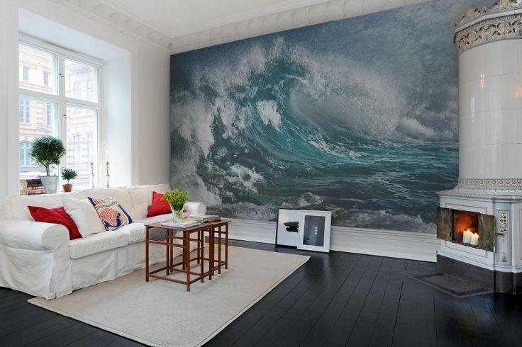 Hey,+look+at+this+wallpaper+from+Rebel+Walls,+Wave!+#rebelwalls+#wallpaper+#wallmurals