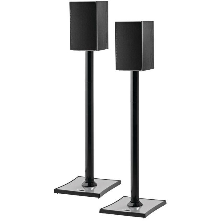 Omnimount Gemini2 Audiophile Bookshelf Speaker Stands, 2 Pk