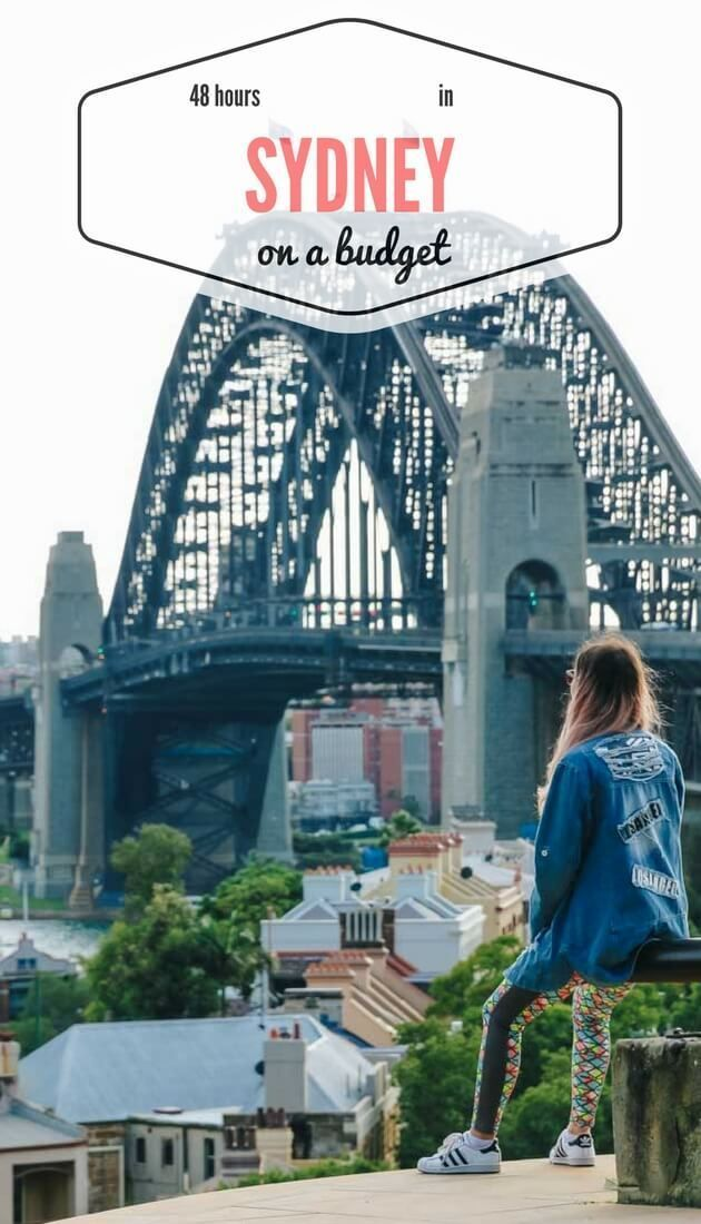 How to spend 48 hours in #Sydney without hurting your budget?